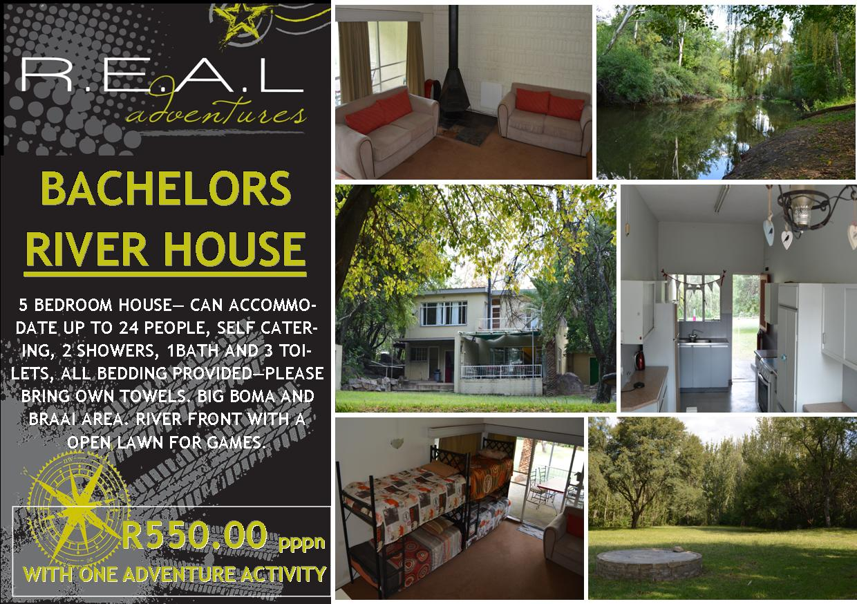 PARYS BACHELOR RIVER HOUSE ACCOMMODATION